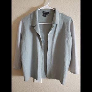 Rebecca Moses 100% Cashmere Mint Green Sweater